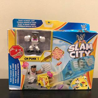 WWE Slam City Blast 'n Smash Cart