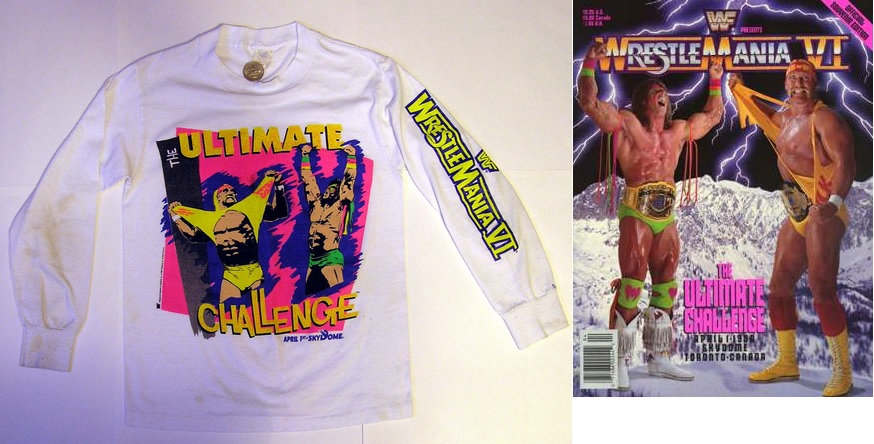 WrestleMania VI, Hulk Hogan, Ultimate Warrior, Canadian Bulldog, Canadian Bulldog's World