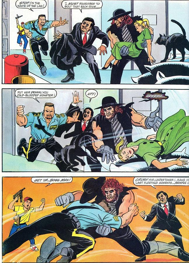 heavyeditor | BattleMania is running wild, brother! Ultimate Warrior Undertaker Bossman