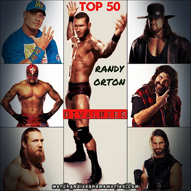 Top 50 Randy Orton Rivalries