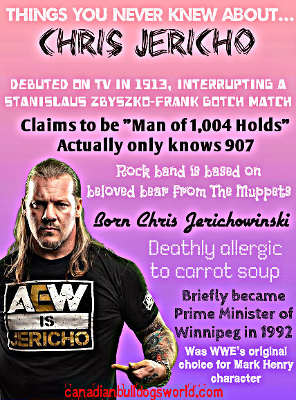 Things You Never Knew About Chris Jerich