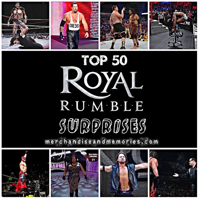 Top 50 Royal Rumble Surprises