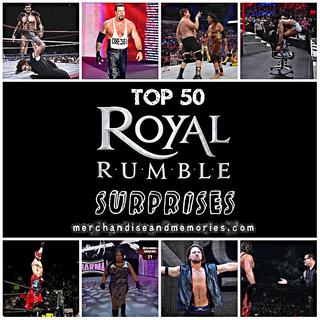 Top 50 Royal Rumble Surprises