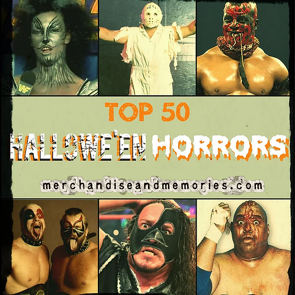 Top 50 Hallowe'en Horrors