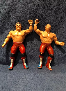 Canadian Bulldog's World LJN Wrestling Figure Hall of Fame: The British Bulldogs