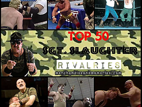 Top 50 Sgt. Slaughter Rivalries