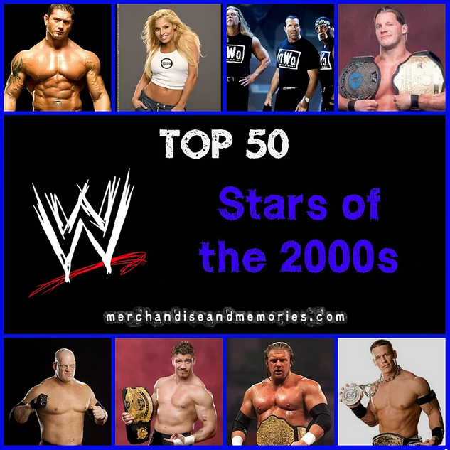 Top 50 WWE Stars Of The 2000s