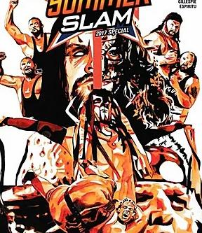 SummerSlam 2017 Comic Book