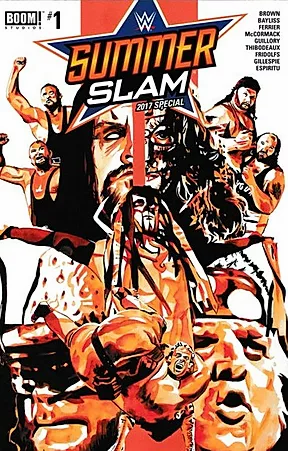 SummerSlam 2017 Comic Book