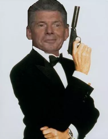Vince McMahon James Bond