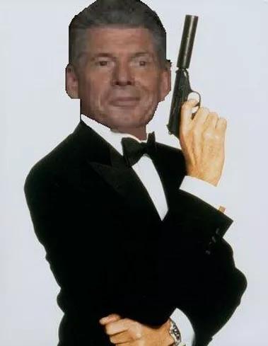 Vince McMahon James Bond
