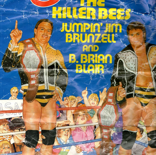 10 Reasons Why This Dilapidated Killer Bees Poster Is The Best Thing Ever!