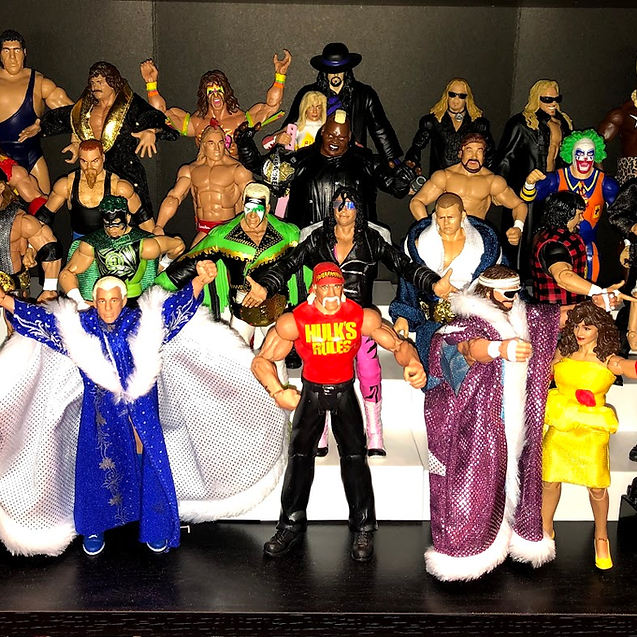 My WWE Mattel Collection