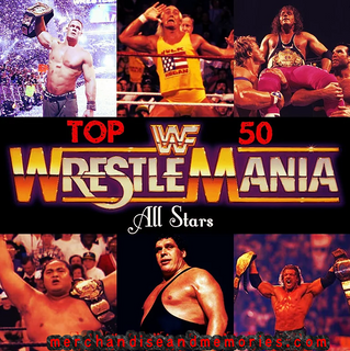 Top 50 WrestleMania All Stars