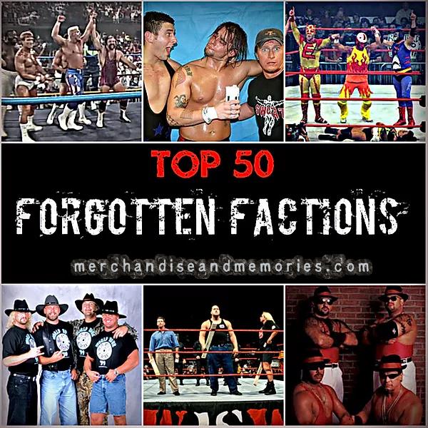 Top 50 Forgotten Factions