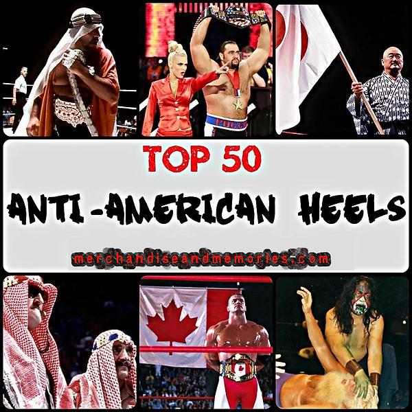 Top 50 Anti-American Heels