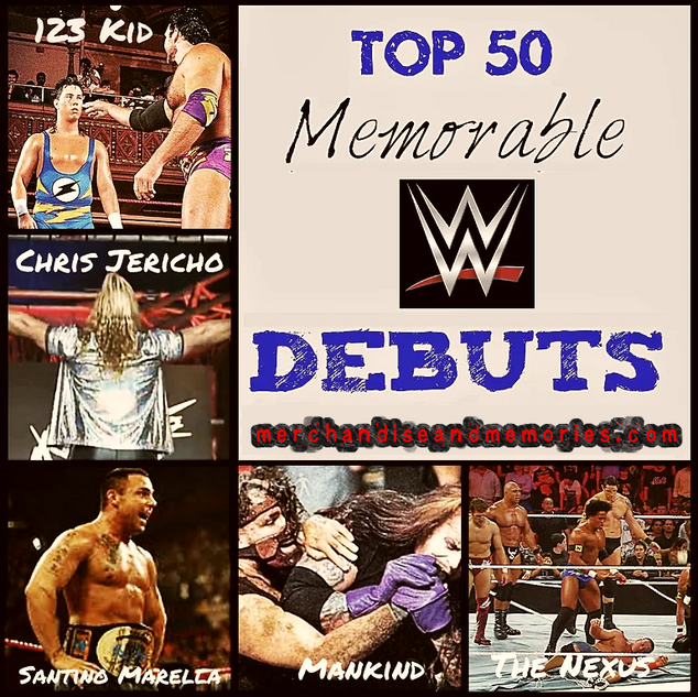 Top 50 Memorable WWE Debuts