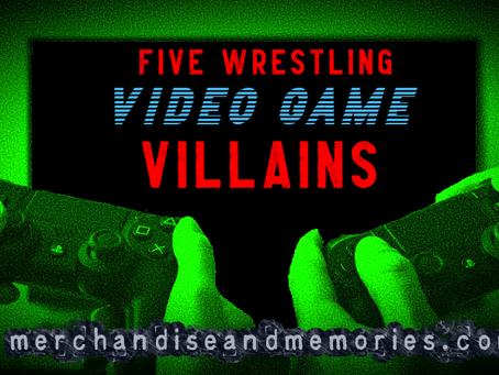 Five Wrestling Video Game Villains