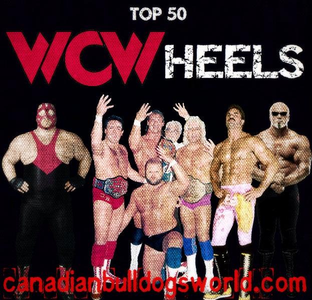 Top 50 WCW Heels