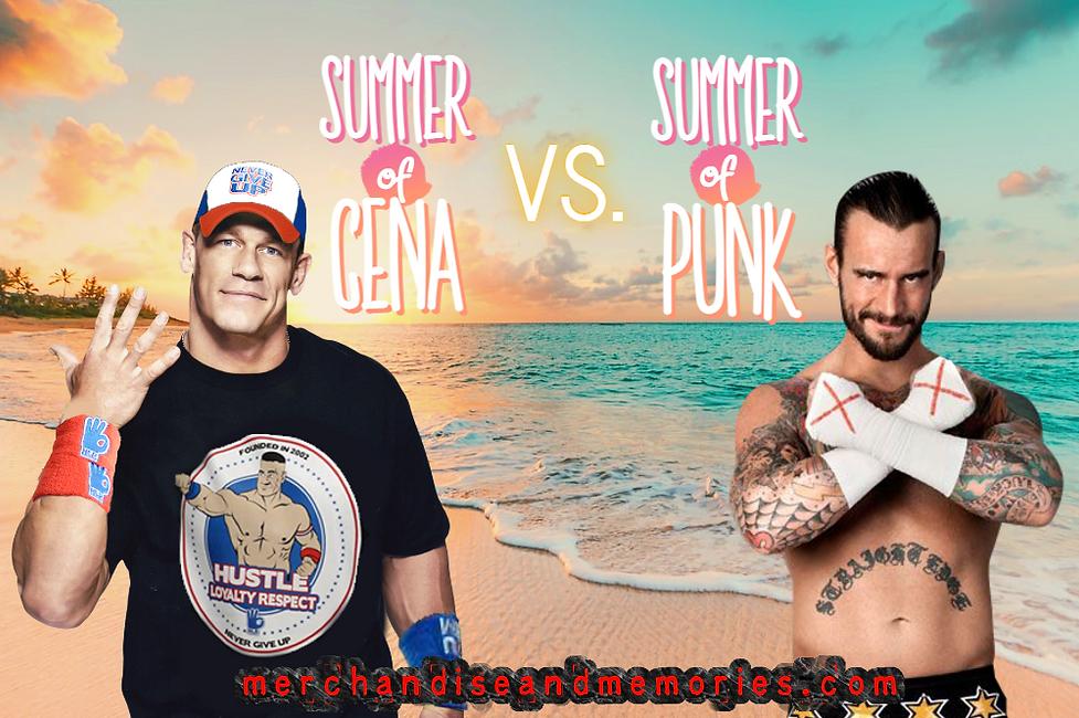 Summer of Cena vs. Summer of Punk