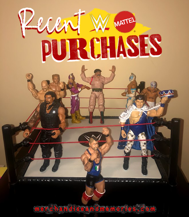 Recent WWE Mattel Purchases