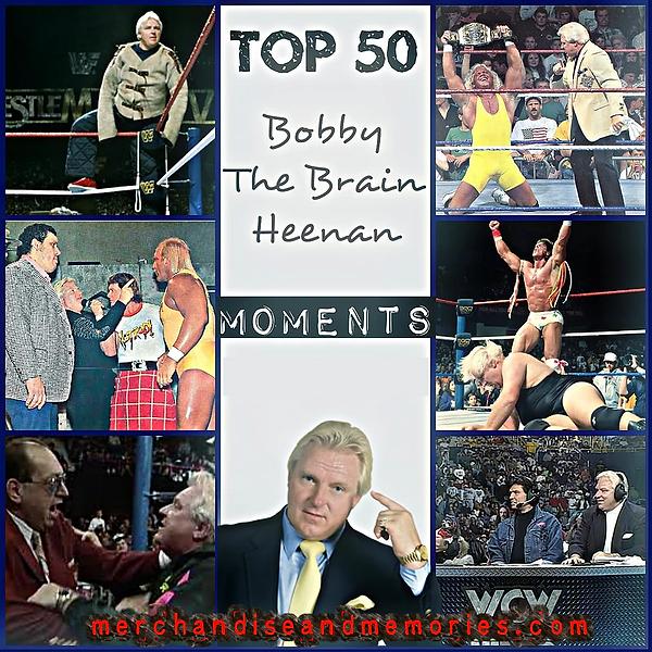 Top 50 Bobby The Brain Heenan Moments
