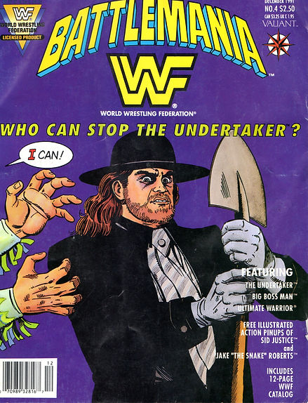Battlemania, The Undertaker, Canadian Bulldog, Canadian Bulldog's World, Ultimate Warrior, Big Boss Man