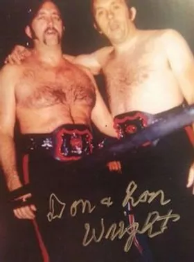 Ron and Don Wright