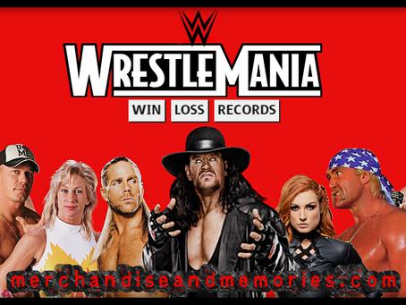 WrestleMania Win-Loss Records