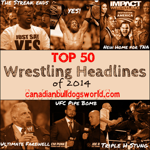 Top 50 Wrestling Headlines of 2014