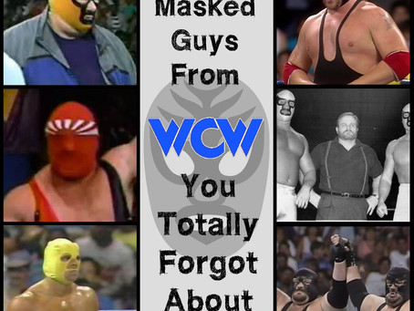 Eight Masked WCW Guys You Totally Forgot About