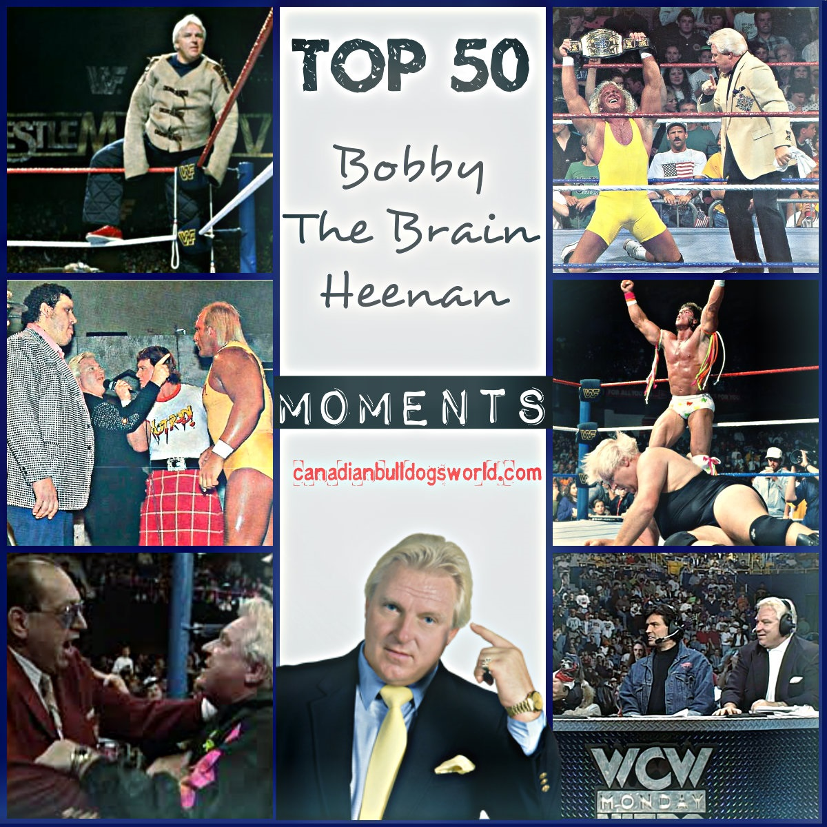 Top 50 Bobby The Brain Heenan Moments
