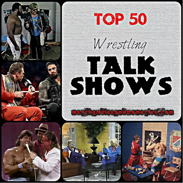 Top 50 Wrestling Talk Shows