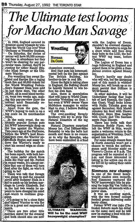 Wrestling Memories From StarPhone