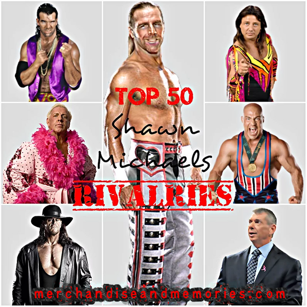Top 50 Shawn Michaels Rivalries
