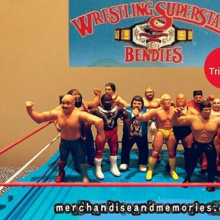 WWF Wrestling Superstars Bendies - A Tribute