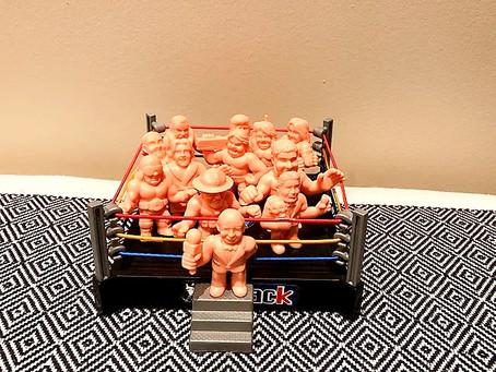 WWE M.U.S.C.L.E. Figures