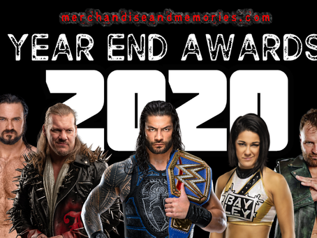 Wrestling Merchandise and Memories 2020 Year End Awards