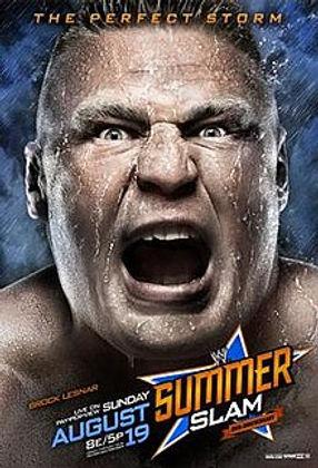 SummerSlam poster Brock Lesnar