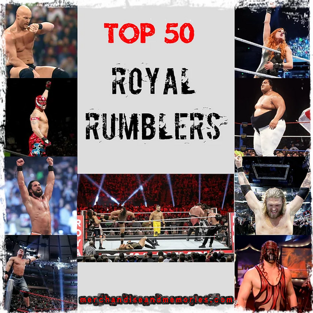 Top 50 Royal Rumblers