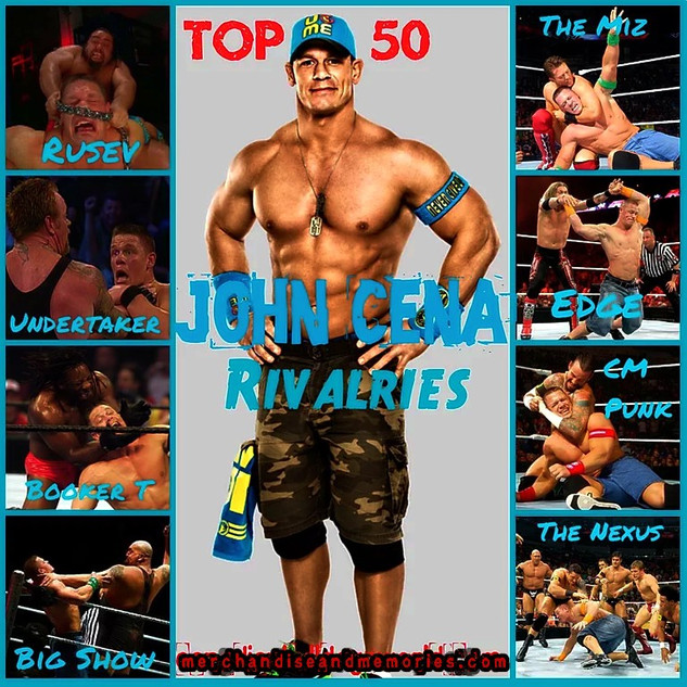 Top 50 John Cena Rivalries