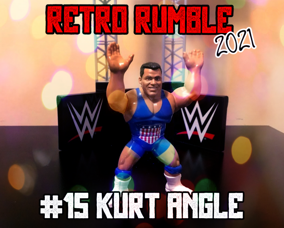Kurt Angle is next! The Olympic Gold Medalist is making a beeline for Brock Lesnar, looking to rekindle an old rivalry.