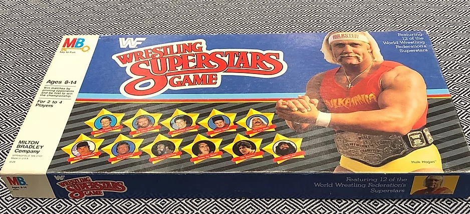 WWF Wrestling Superstars Game