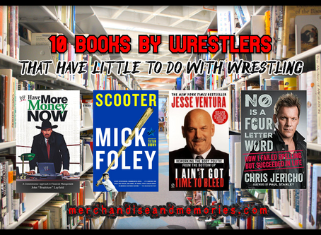 10 Books By Wrestlers That Have Little To Do With Wrestling