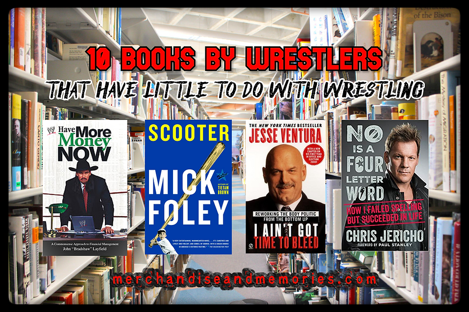 10 Books By Wrestlers That Have Little T