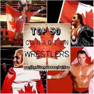 Top 50 Canadian Wrestlers