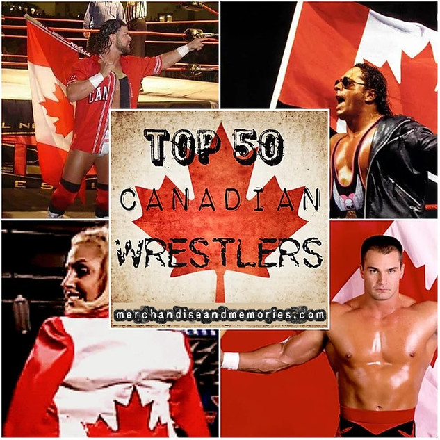 Top 50 Canadian Wrestlers