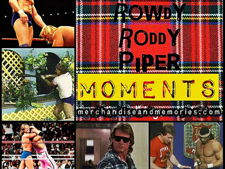 Top 50 Rowdy Roddy Piper Moments
