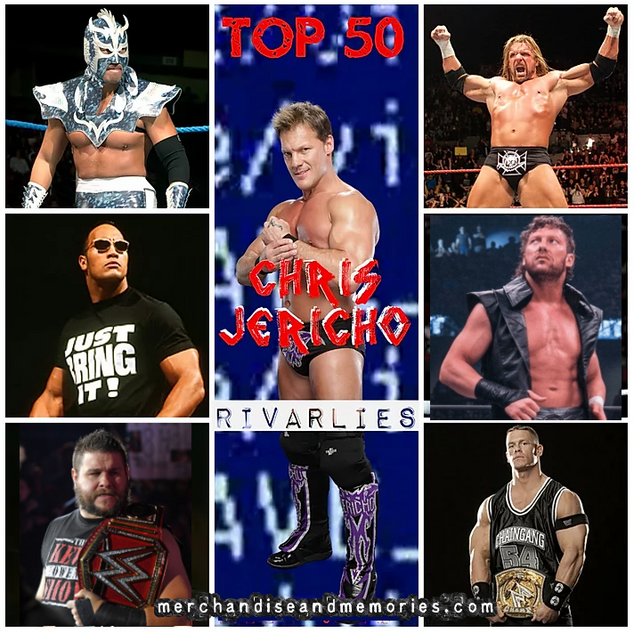 Top 50 Chris Jericho Rivalries