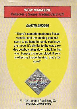 Dustin Rhodes card
